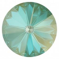 Swarovski Rivoli 1122 14 mm Crystal Silky Sage DeLite - 1 pc