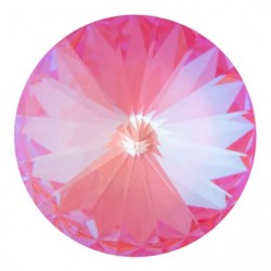 Swarovski Rivoli 1122 14 mm Crystal Lotus Pink DeLite - 1 pc