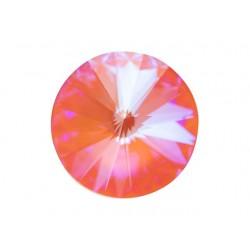 Swarovski Rivoli 1122 14 mm Crystal Orange Glow DeLite - 1 pc