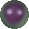 Perle Swarovski 5810  6 mm Iridescent Purple Pearl - 10  Pz