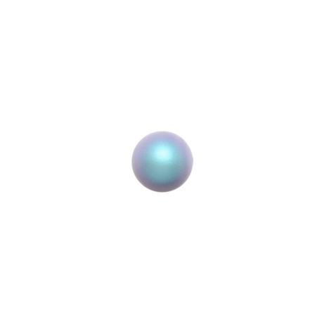 Swarovski  Pearls 5810  6 mm Iridescent Light   Blue Pearl - 10  Pcs