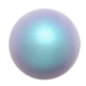 Perle Swarovski 5810  6 mm Iridescent Light  Blue Pearl - 10  Pz