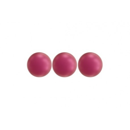 Swarovski  Pearls 5810  6 mm  Crystal Mulberry Pink Pearl - 10  Pcs