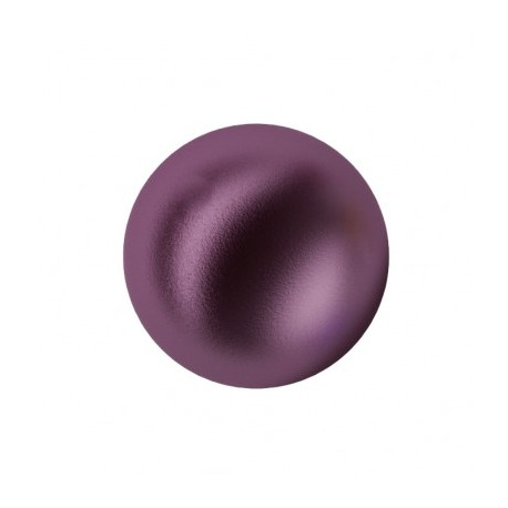 Perle Swarovski 5810 6 mm Crystal Elderberry Pearl - 10 Pz