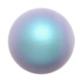 Swarovski  Pearls 5810  8 mm   Iridescent  Light Blue Pearl - 5  Pcs