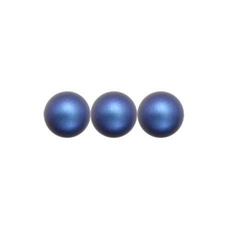 Perle Swarovski 5810  8 mm Iridescent  Dark Blue Pearl - 5  Pz