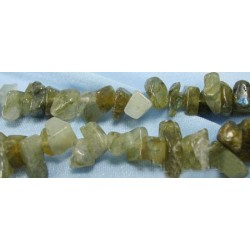 Labradorite  Chips  5-8mm - 1 Strand about 90 cm long