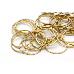 Brass Circle Link 20 mm - 1 pc