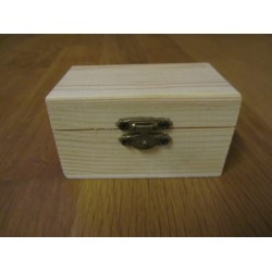 Bauletto in legno grezzo   9x5,5 cm   - 1 pz