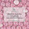 Candy Rose Beads  8  mm  Alabaster AB - 10 pcs
