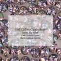 Candy Rose Beads  8  mm  Jet Purple  Iris - 10 pcs