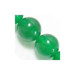 Malaysia Jade Round Beads Natural Green 6 mm - 10 pcs