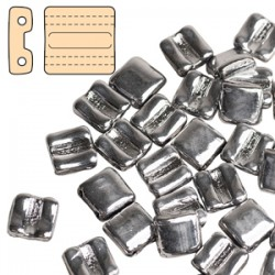 Fixer Vers. Orizzontale 8 x 8 mm Luster White - 5 g