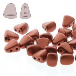 NIB-BIT 6 x 5 mm Matte Metallic Bronze Copper - 5 g