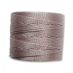 S-Lon Bead Cord 0.5 mm Neon Pink - 1 Spool 70 m