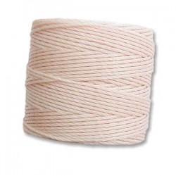 S-Lon Bead Cord 0.5 mm Silver - 1 Bobina da 70 m