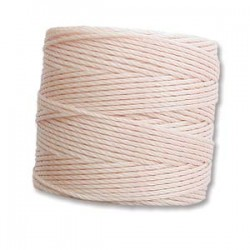 S-Lon Bead Cord 0.5 mm Silver - 1 Spool 70 m