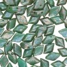 GemDuo 8 x 5 mm Turquoise Green Rembrandt - 5 g