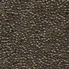 Miyuki Round Seed Beads 11/0 Metallic Dark Bronze - 10 g