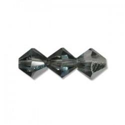 Bicono Preciosa 4 mm Crystal Bermuda Blue - 40 pz