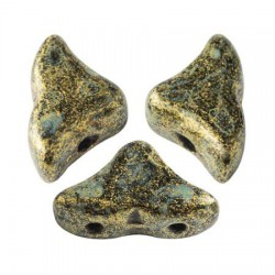 Helios® par Puca® 6x10 mm Crystal Copper Spotted - 5 g