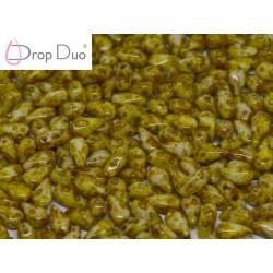 DropDuo 3 x 6 mm Opaque Dark Travertin - 40 Pz