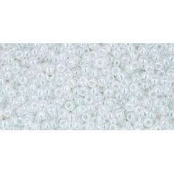 Rocailles Toho 15/0 Ceylon Snowflake