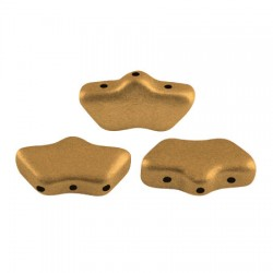 Delos® par Puca® 6x11 mm Bronze Gold Mat - 10 g