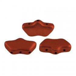 Delos® par Puca® 6x11 mm Red Metallic Mat - 10 g