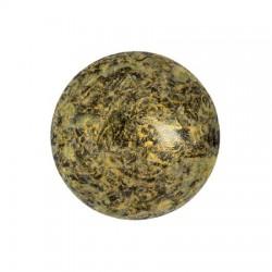Cabochon par Puca® 18 mm Light Gold Mat - 1 pz
