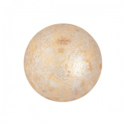 Cabochon par Puca® 18 mm Light Gold Mat - 1 pc