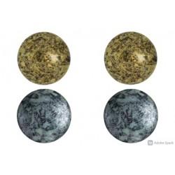 Set Cabochons par Puca® 18 mm n. 2 Colori Spotted - 1 conf.