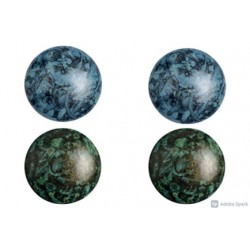 Cabochon par Puca®  18 mm Set N. 3 Spotted Colours - 1 pack