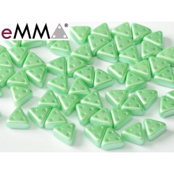 eMMA® Bead 3 x 6 mm Pastel Light Green -  5  g