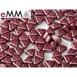 eMMA® Bead  3 x 6 mm Pastel Burgundy  - 5  g