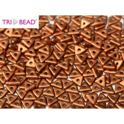 Perline Tri-Bead  4 mm Copper  - 5  g