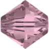Swarovski Bicone 5328 4 mm Crystal Antique Pink - 40 pcs
