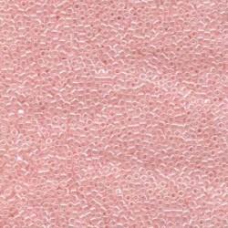 Miyuki Delica  11/0  Lined Crystal Pale Salmon  - 5 g