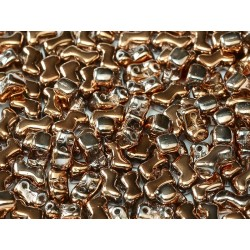Zorro Beads 6 x 5 mm Crystal Capri Gold Full  - 20 pcs
