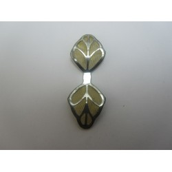 Brass Net Leaves mm, Brass Colour - 1 pcs