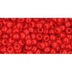 Toho Round 8/0 Opaque Cherry