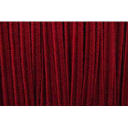 Cordoncino Soutache  2,5 mm Rosso Scuro   - 2 m