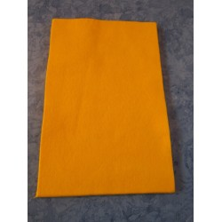 Felt 20x30 cm, Dark Yellow - 1 pc