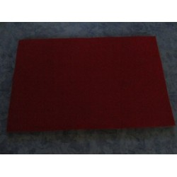Felt 20x30 cm, Dark Red - 1 pc