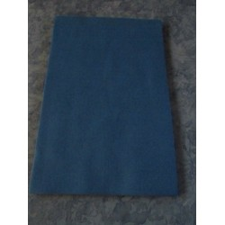 Panno Lenci  20x30 cm  Blu Medio   - 1  pz