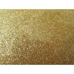 Foglio Mousse Gomma Crepla 20x30 cm Oro Glitter - 1 pz