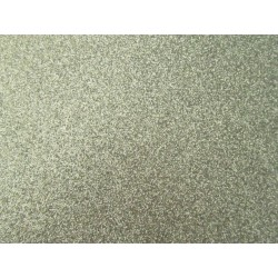 Foglio Mousse Gomma Crepla 20x30 cm Argento Glitter - 1 pz