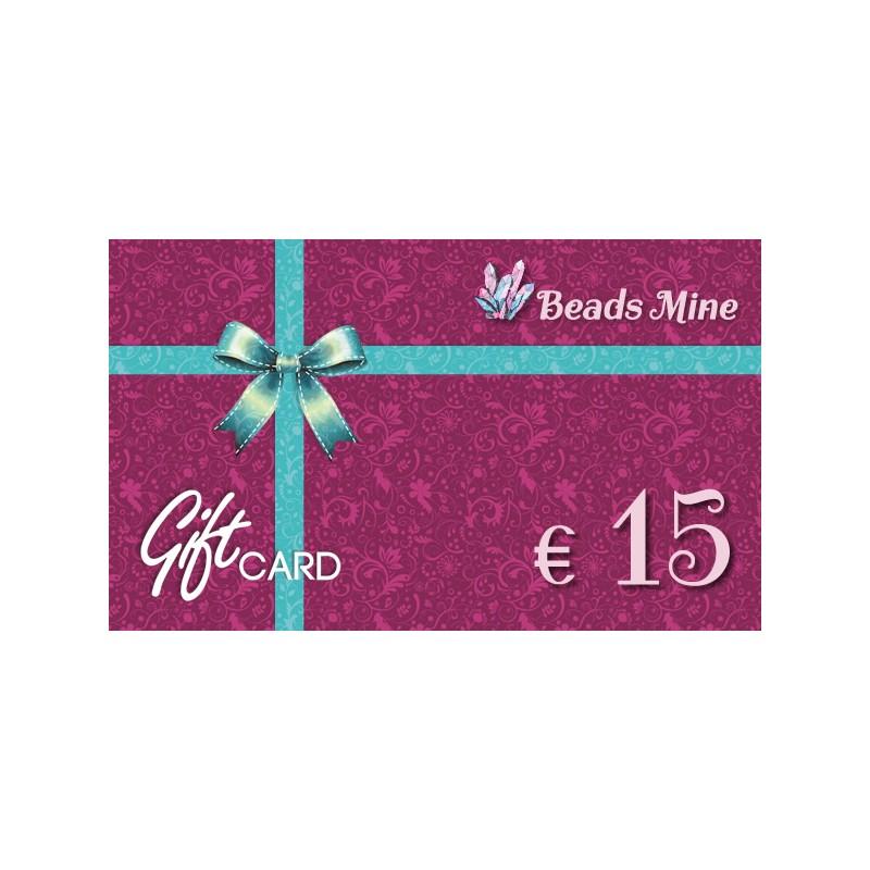 a367fa1ae940 Buono Regalo da 15 Euro - Beads Mine