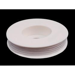 Cordoncino Soutache  3 mm White   - 2 m