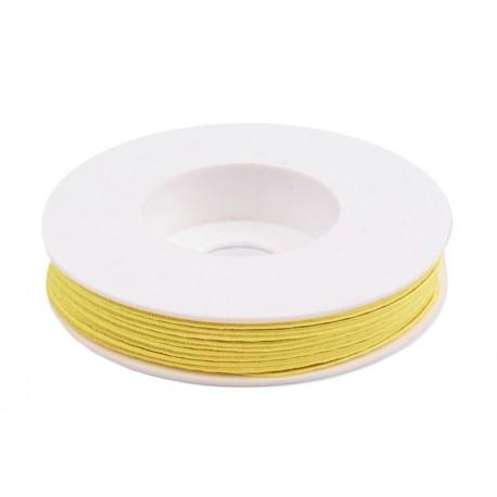 Cordoncino Soutache 3 mm Yellow - 2 m